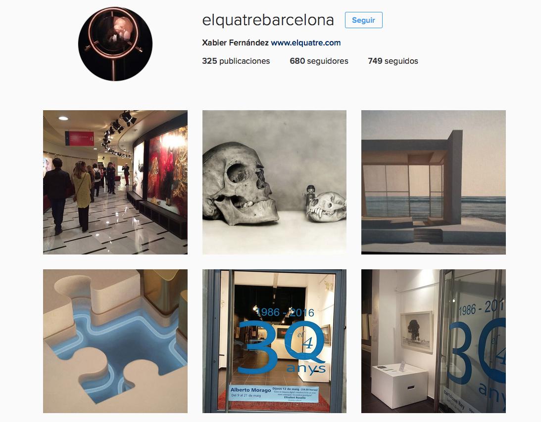 El Quatre en Instagram
