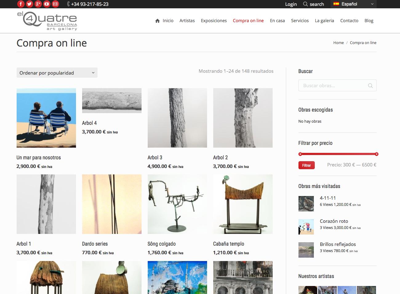 Tienda Online El Quatre