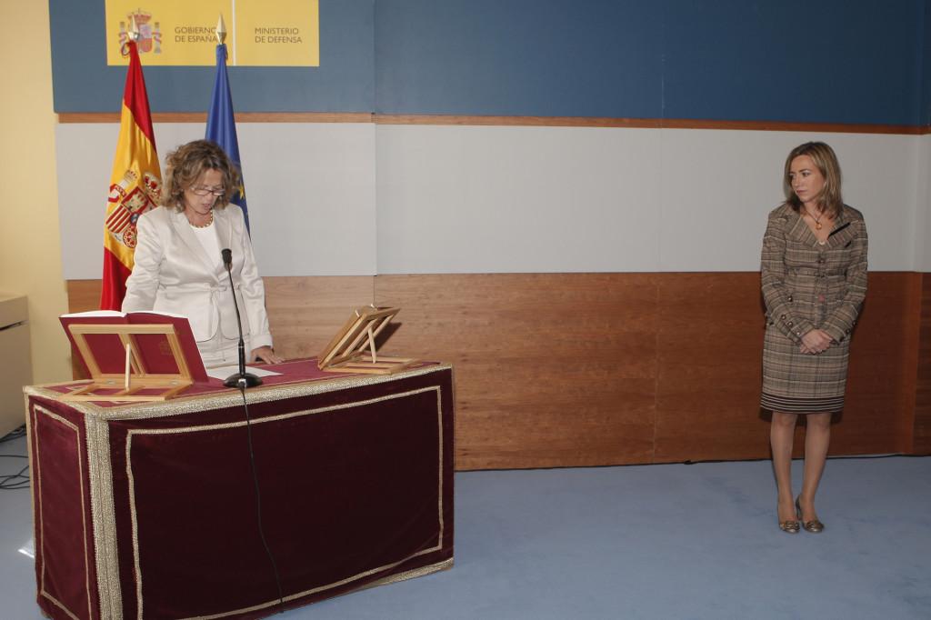 Georgina Higueras-Ministerio de Defensa