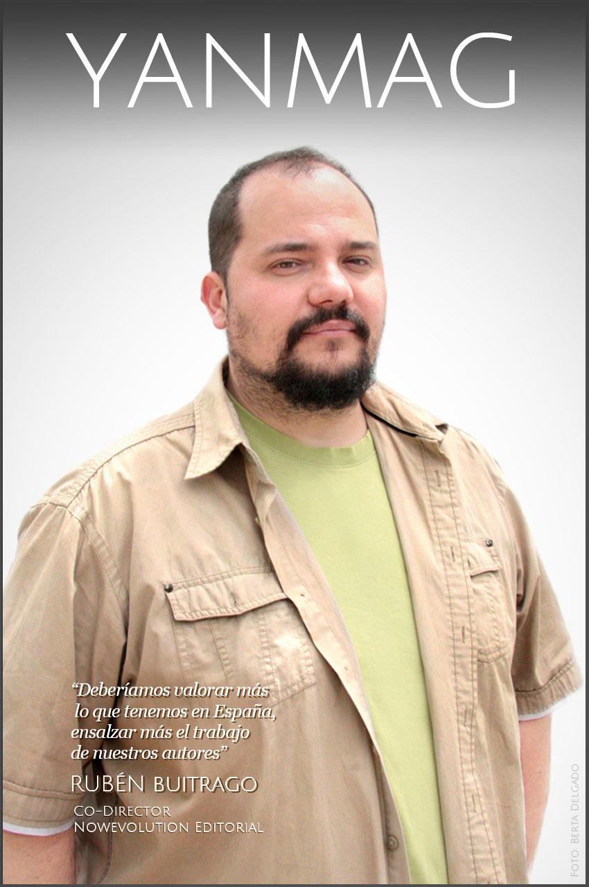 Ruben-Buitrago-codirector-editor-Nowevolution-editorial-manga-novela-comic-española-YanMag
