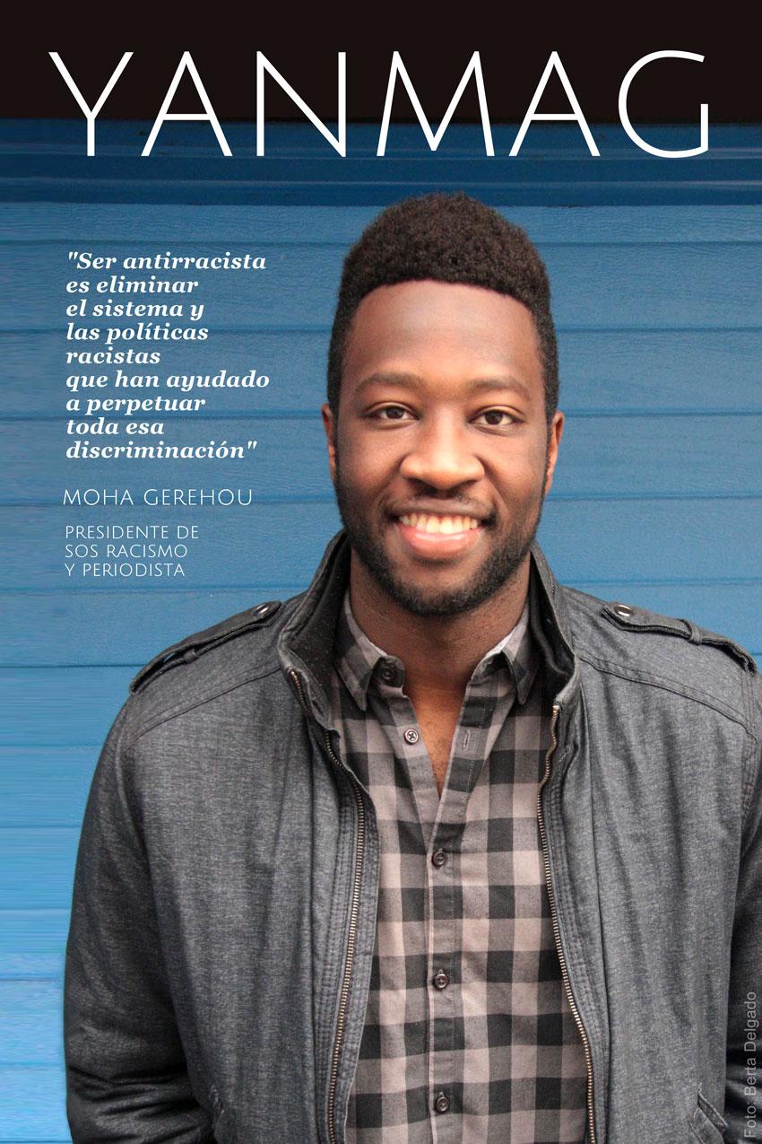 Moha-Gerehou-SOS-Racismo-Madrid-entrevista-YanMag