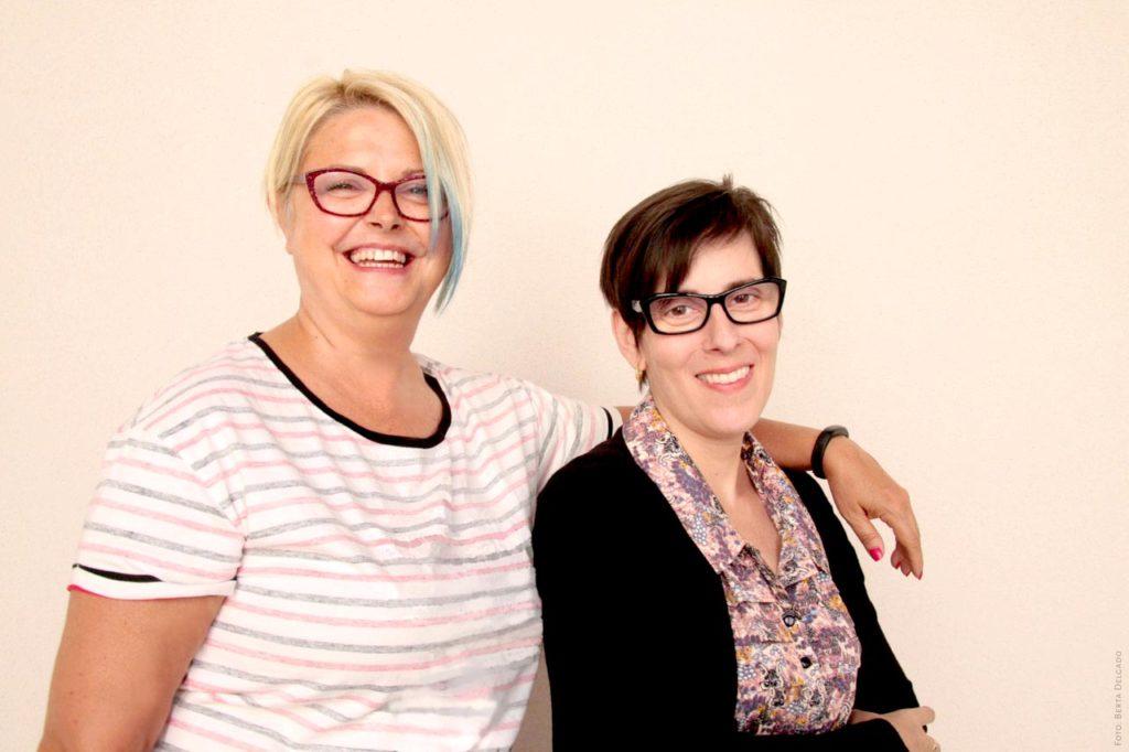 Amelia Aguado y Oliva Cachafeiro, dirección y gestión de la Fundación Jiménez-Arellano en Valladolid
