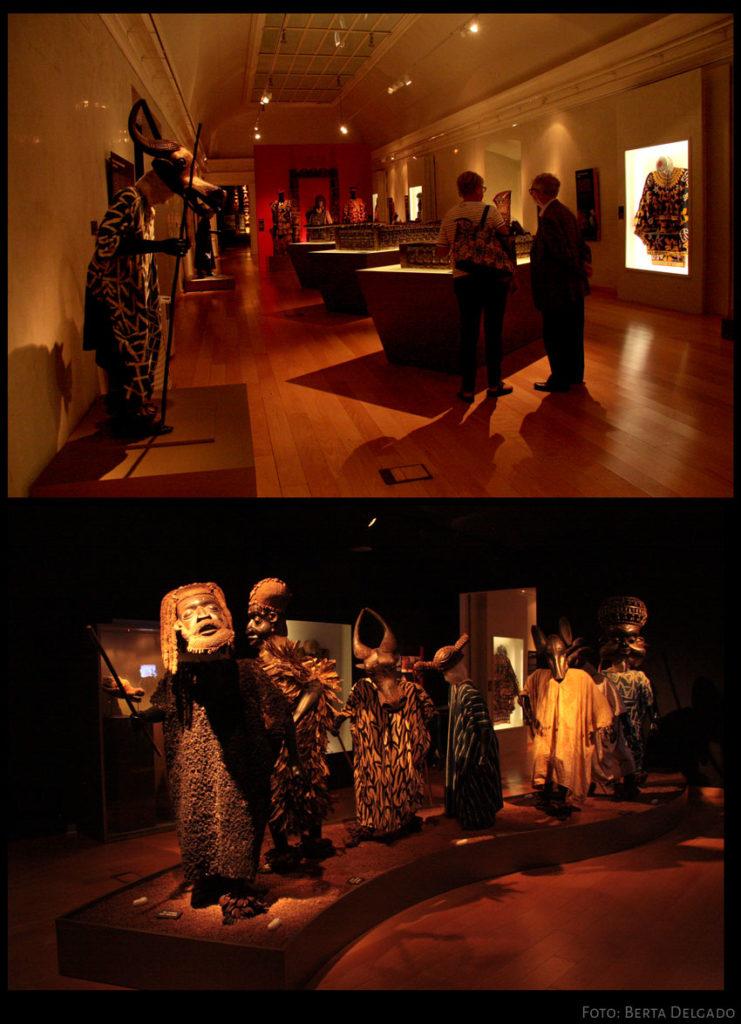 Salas del Museo Africano de Valladolid