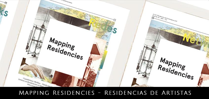 Mapping Residencies – Publicación sobre Residencias de Artistas