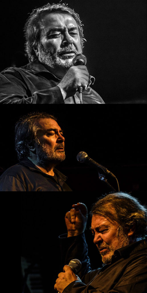 Pedro Ruy Blas. Cantante, compositor y actor. Foto pedro Rebollo