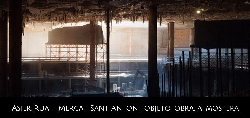 Asier Rua. Proyecto fotografico sobre el Mercat Sant Antoni de Barcelona