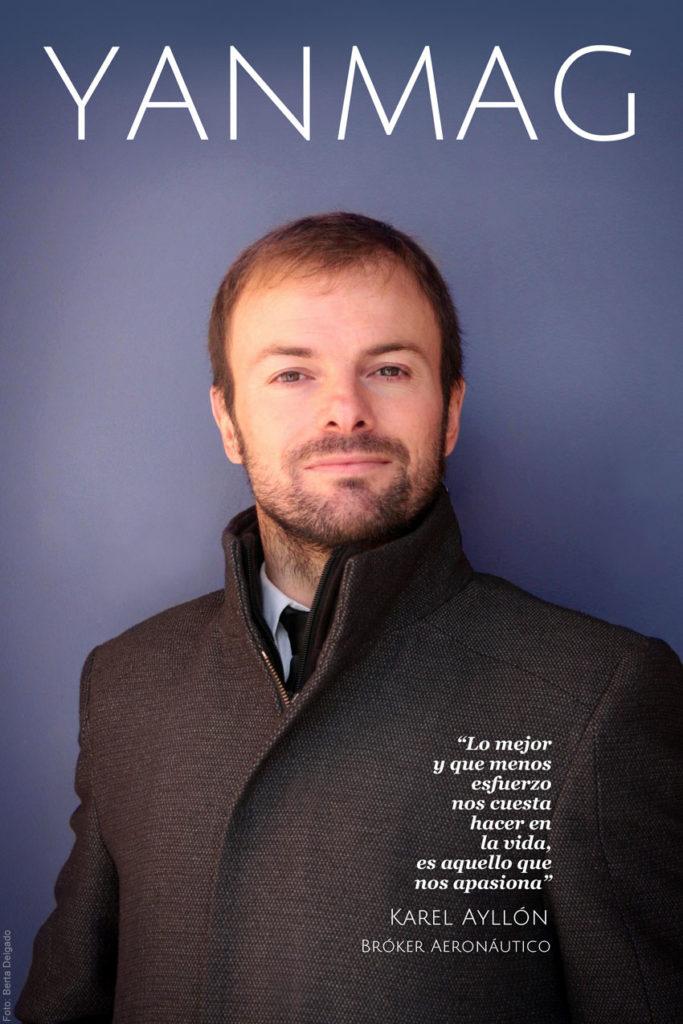 Karel Ayllón es bróker aeronautico, especializado en contratación y gestión de vuelos charter.