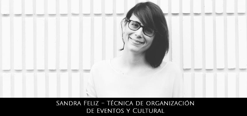Sandra Feliz – Técnica de Organización de Eventos y Cultural