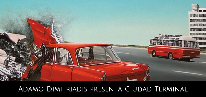 Adamo Dimitriadis presenta 'Ciudad Terminal'