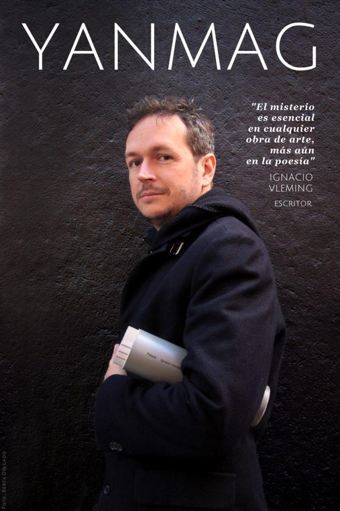 Ignacio Vleming, Escritor. Foto: Berta Delgado. YanMag