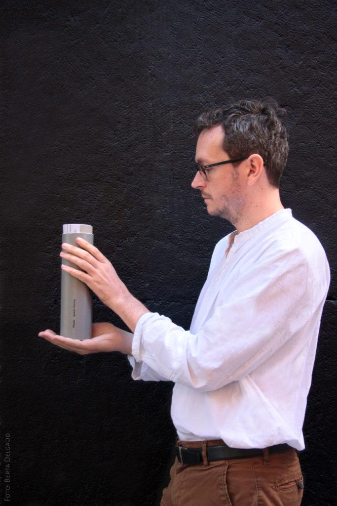Ignacio Vleming. Escritor, periodista y poeta. Libro Fisura. Foto: Berta Delgado. YanMag