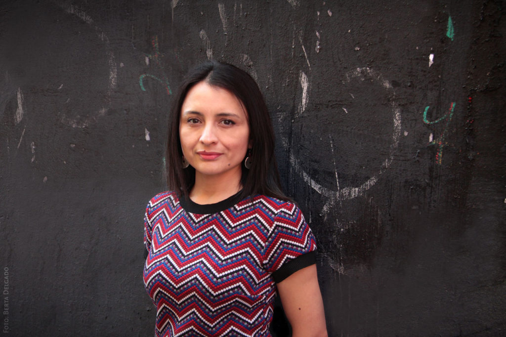 Paula Guerra Caceres. Presidenta SOS Racismo Madrid. Foto: Berta Delgado. YanMag