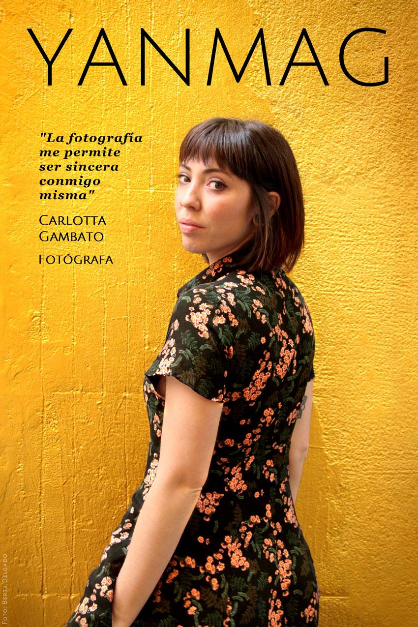 Carlotta Gambato. Fotografa. Foto: Berta Delgado. YanMag