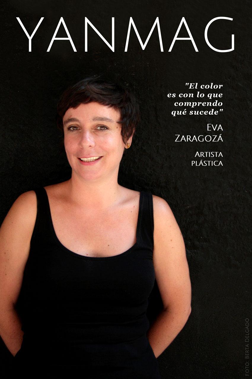 Eva Zaragozá. Artista plástica. YanMag