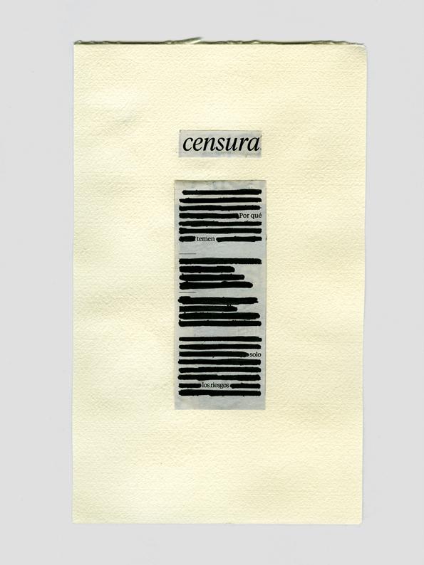 Censura II - Lina Ávila- Collage Republic