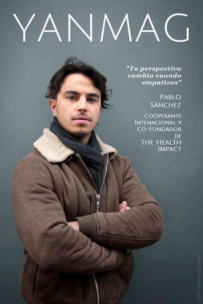 Pablo Sanchez. Cooperante Internacional y Co-Fundador de The Health Impact. Foto Berta Delgado. YanMag