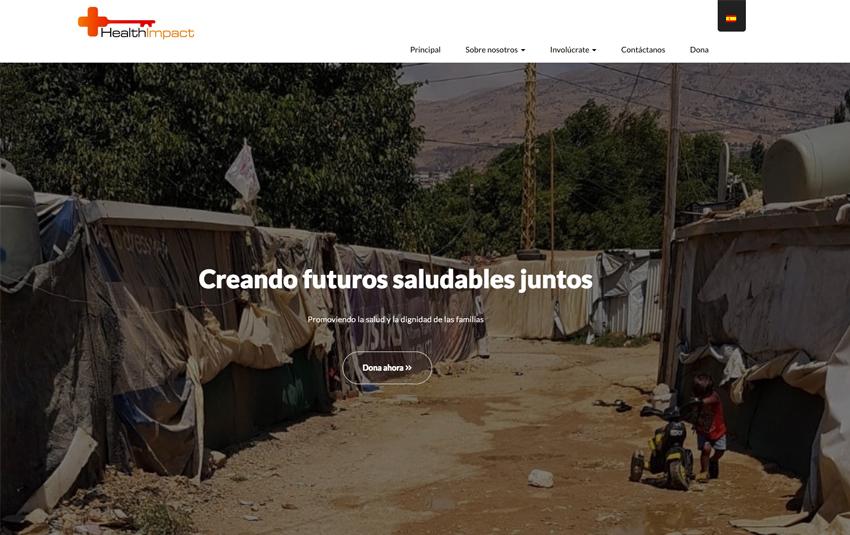 The Health Impact. ONG de ayuda a refugiados