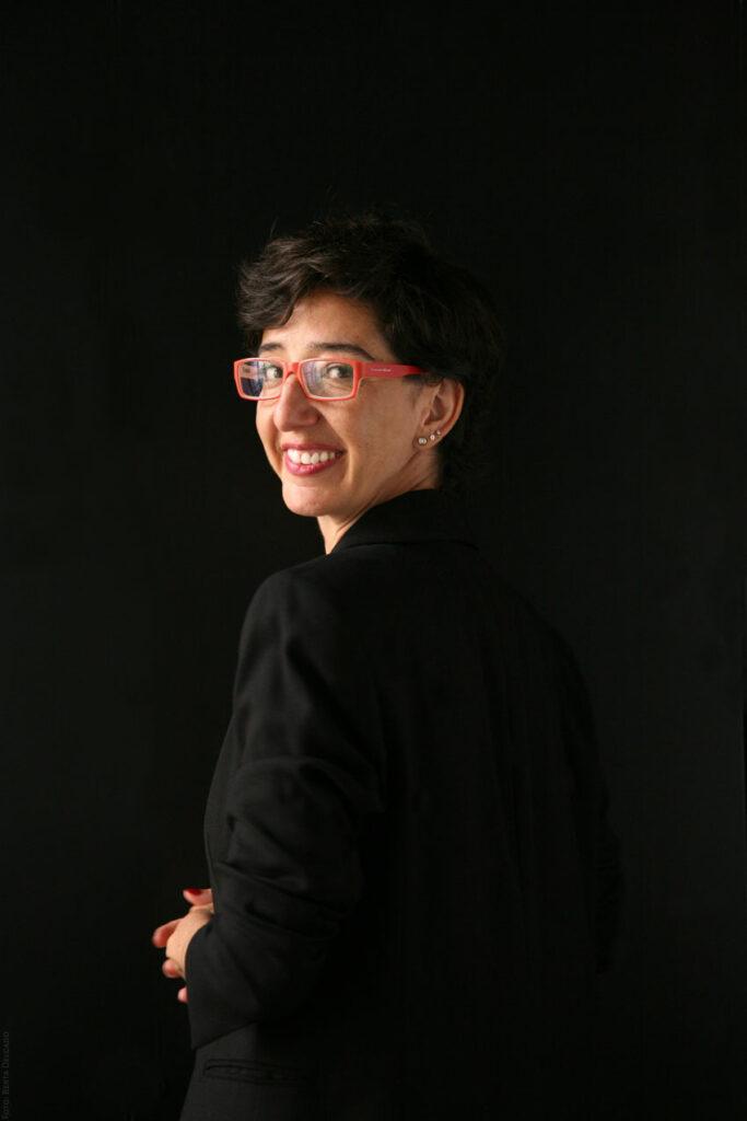Elena Gonzalez. Gestora Cultural. Espacio Fundacion Telefonica. Foto: Berta Delgado