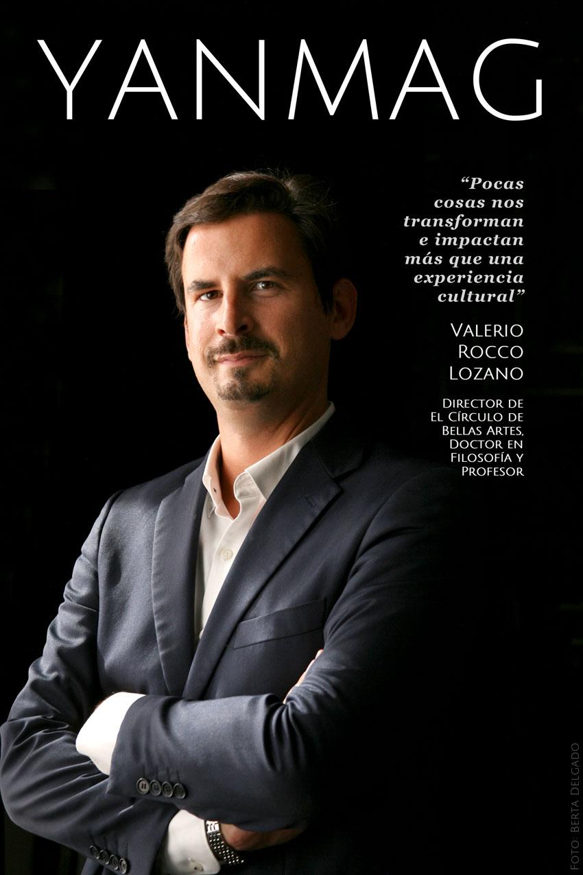 Valerio Rocco. Director de El Circulo de Bellas Artes. Foto: Berta Delgado. YANMAG
