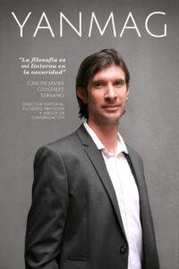 Carlos Javier Gonzalez Serrano - Director editorial, filosofo, profesor y asesor de comunicacion. Foto Berta Delgado.YANMAG