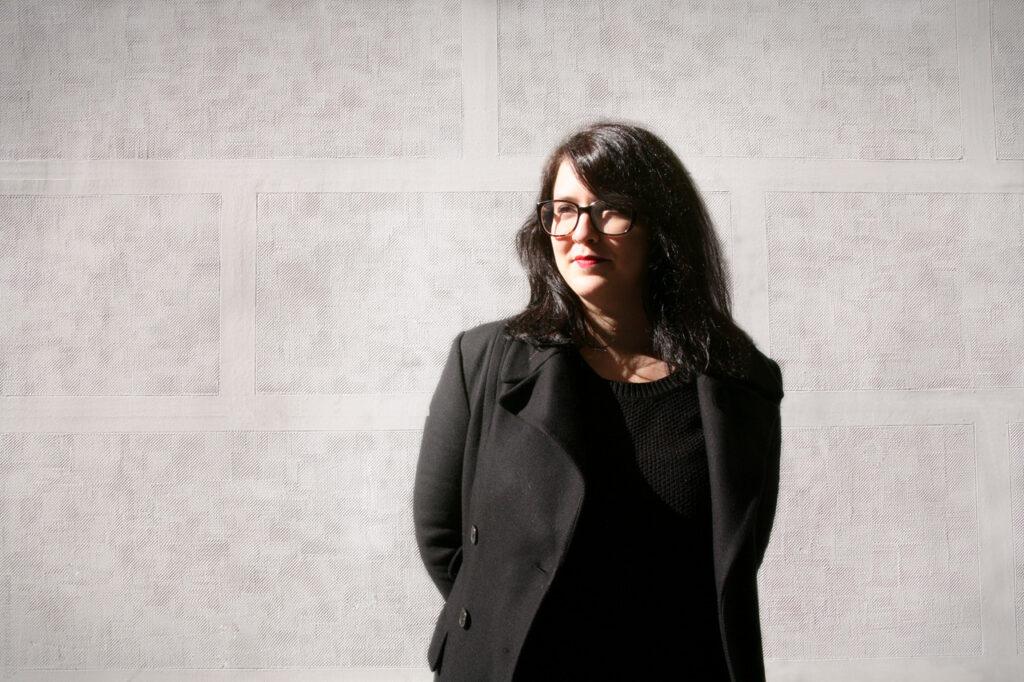 Marta Salvador Tato. Distribution with Glasses. Distribucion cinematografica. Foto: Berta Delgado. YANMAG