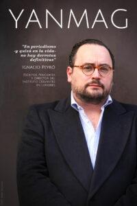 Ignacio Peyro. Escritor, Periodista y Director del Instituto Cervantes en Londres. Foto: Berta Delgado. YANMAG