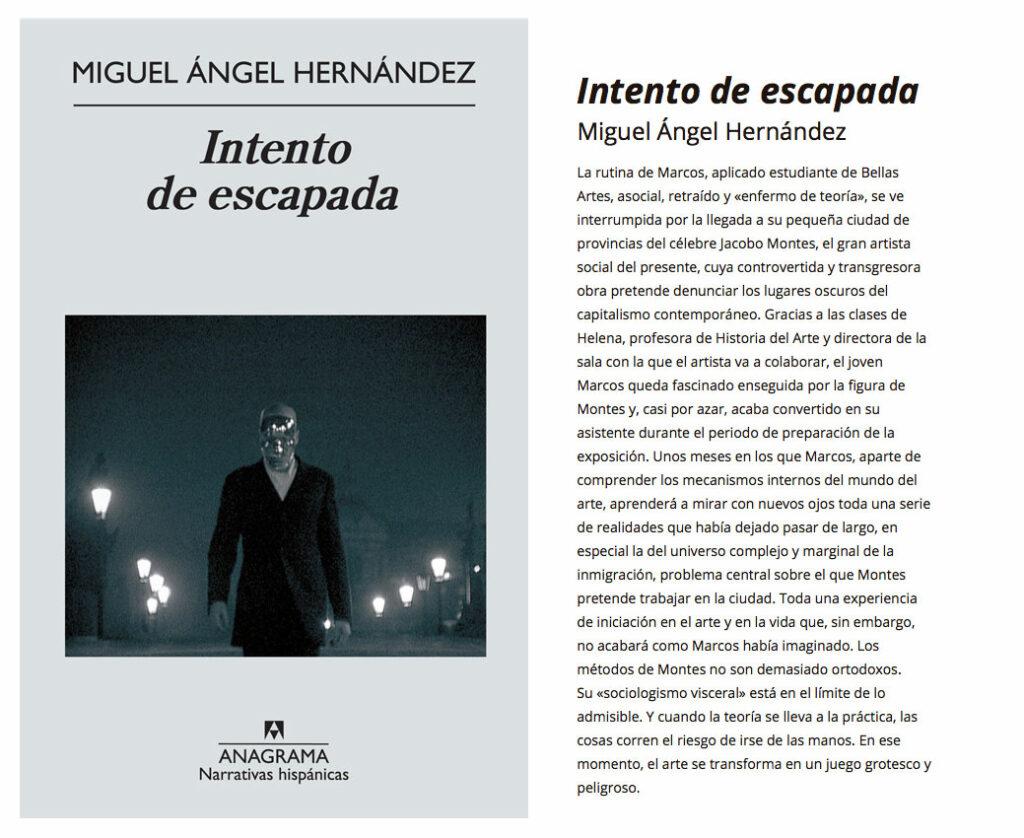 Miguel Angel Hernandez. Escritor, Profesor de Historia del Arte, Critico, Comisario.