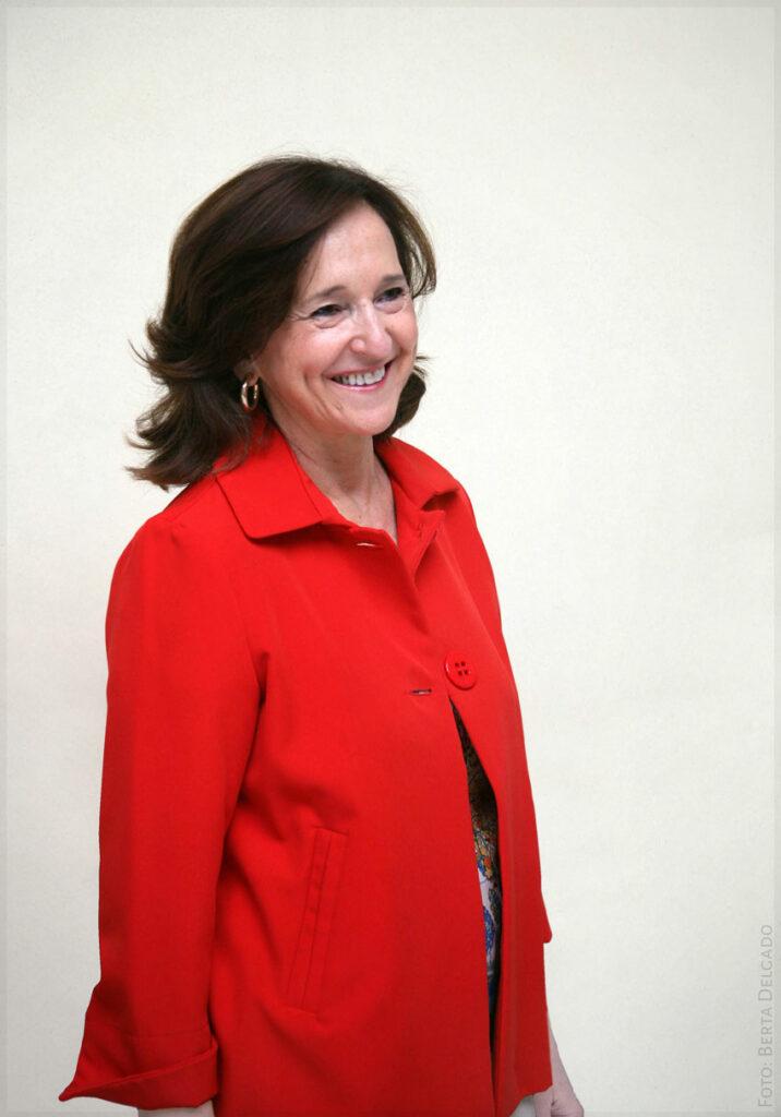 Ana Santos. Directora de la Biblioteca Nacional de España. Foto: Berta Delgado. YANMAG