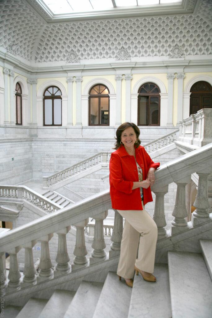 Ana Santos. Directora de la Biblioteca Nacional de Espa–a. Foto: Berta Delgado. YANMAG