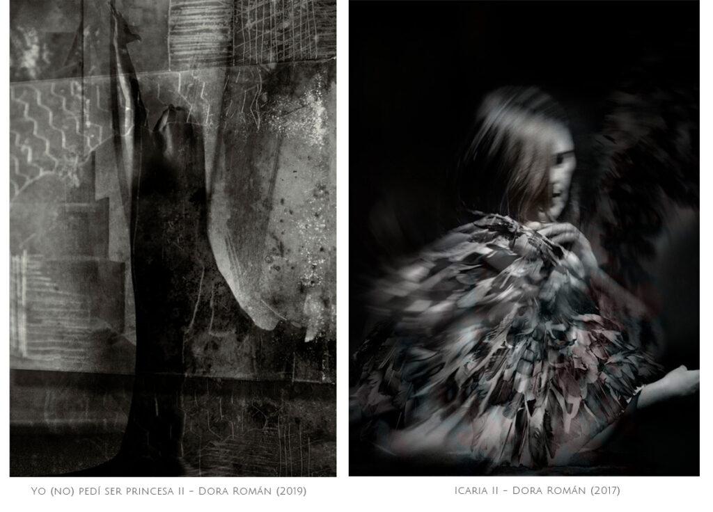 Dora Roman, artista visual. Proyecto 8x8 (InfinitoxInfinito) de Andrea Perissinotto.