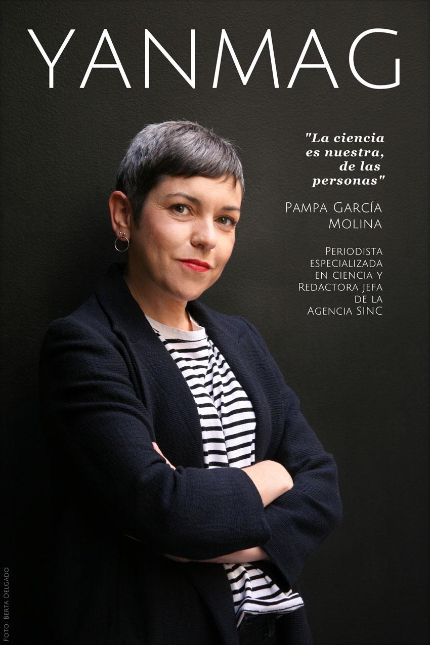 Pampa Garcia Molina. Periodista Especializada en ciencia y redactora jefa de la Agencia SINC. Foto: Berta Delgado. YANMAG